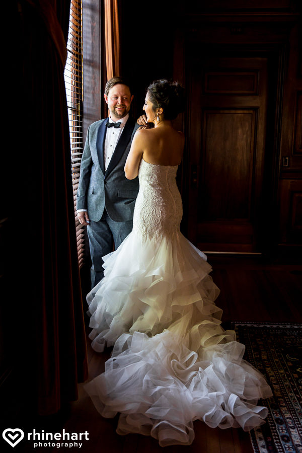 dc wedding photographers courtney evan at the carnegie